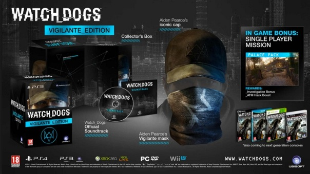 Watch Dogs UBER COLLECTORS EDITION
